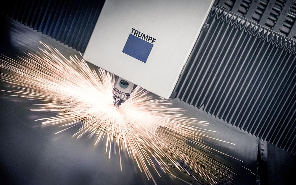 TRUMPF - cięcie laserowe